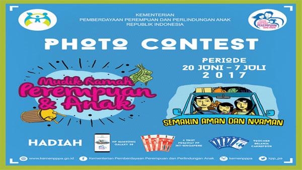 Photo Contest Mudik Ramah Perempuan dan Anak