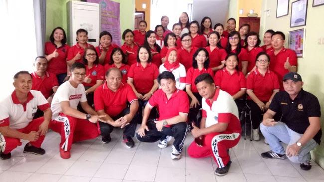 Kebersamaan Dinas Pemberdayaan Perempuan dan Perlindungan Anak Daerah Prov.Sulut