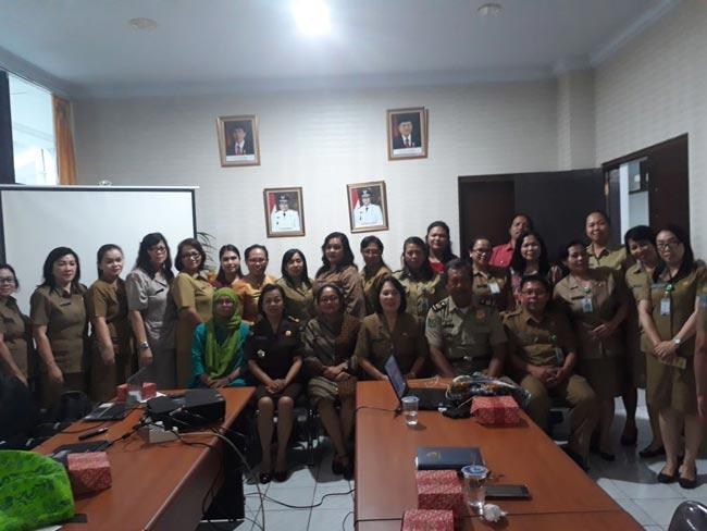 Rapat Koordinasi terkait Penanganan Perempuan dan Anak Korban Kekerasan