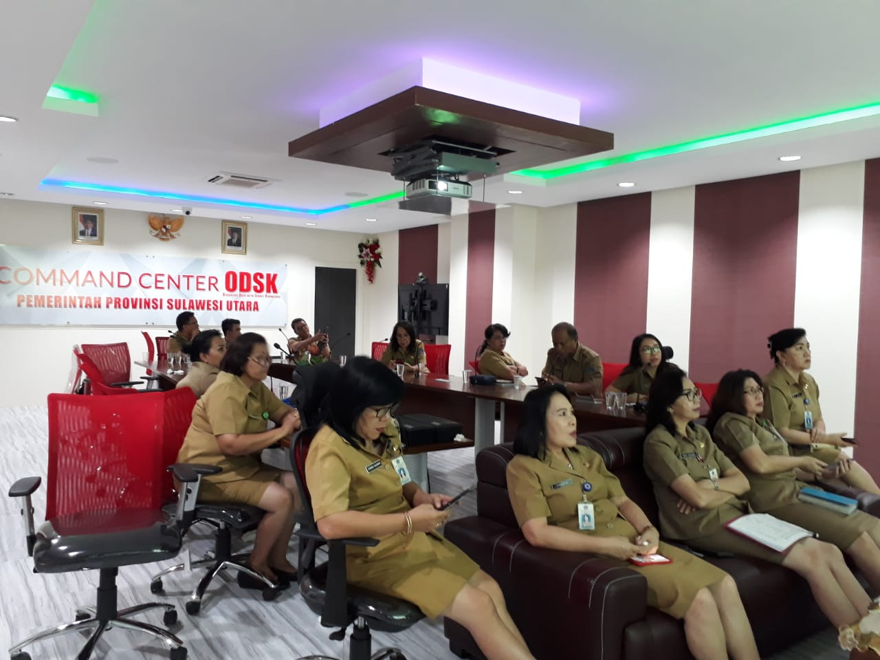 Rakornas PP dan PA Video-Conference Tahun 2019