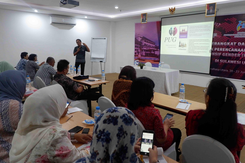 Pelatihan PPRG Kab/Kota